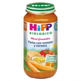 Petit Pot Bio Menu Pâtes, Tomates et Veau (12 mois) HIPP, 250 g