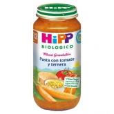 Potito Biológico menu Pasta Tomate y Ternera 12 M HiPP, 250 g