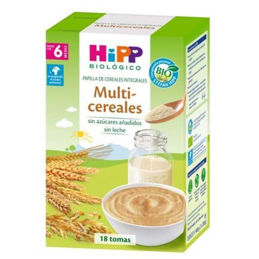 Bouillie Multicéréales Bio (6 mois) HIPP, 400 g