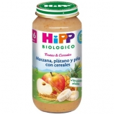 HiPP 6mths organic apple, banana, pineapple & grains 250g