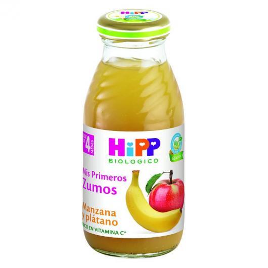 Jus Bio Pomme et Banane (4 mois) HIPP, 200 ml