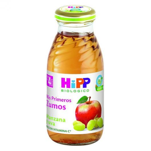 Jus Bio Pomme et Raisin (4 mois) HIPP, 200 ml