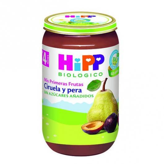 Petit Pot Bio Prunes et Poires (4 mois) HIPP, 250 g