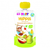 HiPP apple, pear & banana babyfood 90g