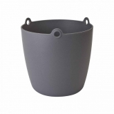 Vaso alto Brussels hanging basket antracite