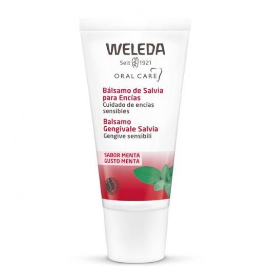 Gel dentifrice à la sauge pour gencives sensibles Weleda, 30 ml