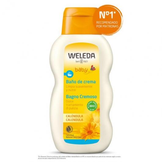 Bagno crema alla Calendula Weleda, 200 ml