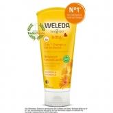 Shampooing et gel douche à la calendula Weleda, 200 ml
