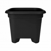 Pot Green Basics Carré Anthracite Elho