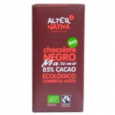 Chocolate Negro Mascao al 85% Alternativa, 80 g