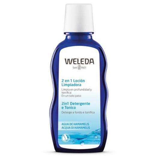 Lotion nettoyante 2 en 1 Weleda, 100 ml