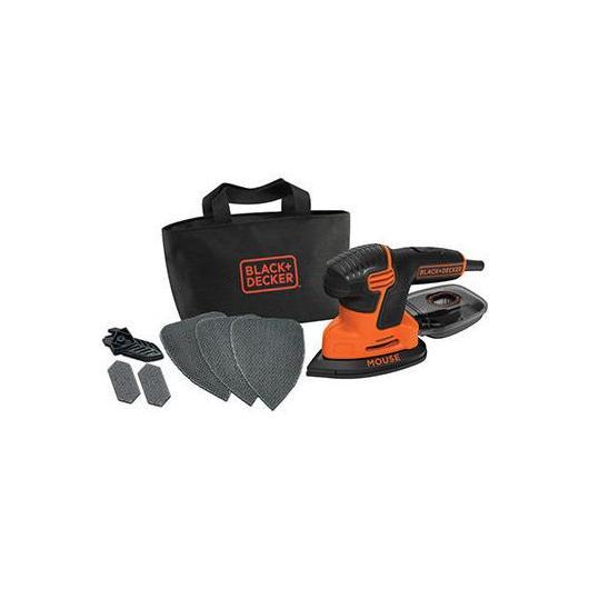Levigartrice per dettagli Mouse 120 W Black & Decker