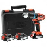 Berbequim percutor 14.4 V Li Black & Decker