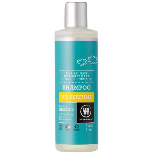 Champú sin perfume cabello normal Urtekram, 250 ml