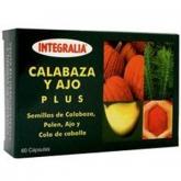 Calabaza y Ajo Plus Integralia, 60 cápsulas