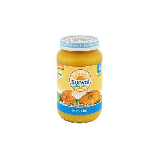 Petit pot citrouille Sunval, 190 g