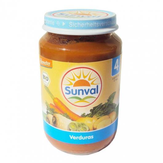 Pappa mix di verdure Sunval, 190g