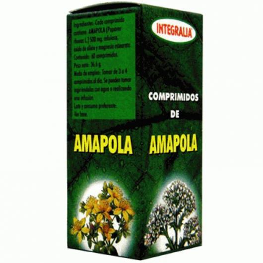 Amapola Integralia, 60 comprimidos