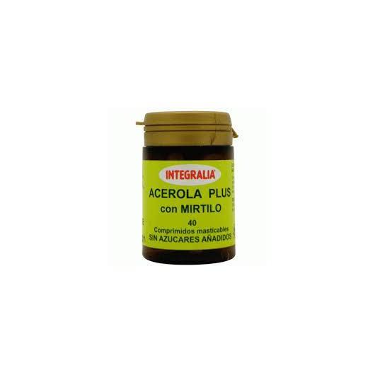 Acerola con Mirtillo Plus Integralia, 40 compresse