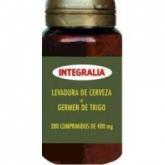 Levedura de cervea + germe de trigo Integralia, 280 comprimidos