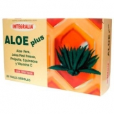 Jalea Real Aloe Plus Fructosa Integralia, 20 ampollas