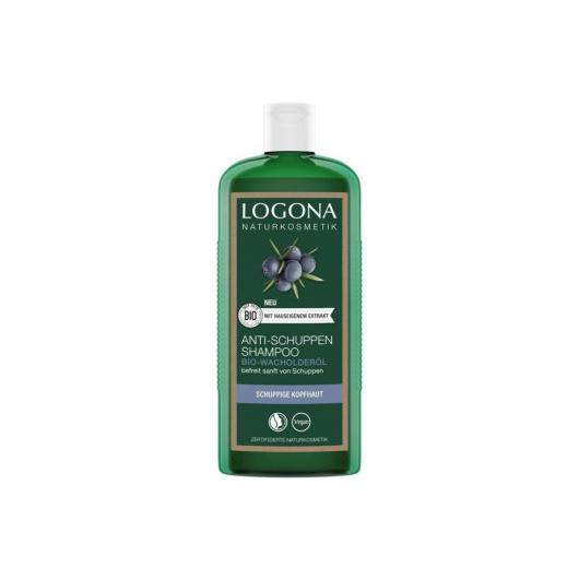 Shampoo antifforfora Enebro Logona, 250 ml
