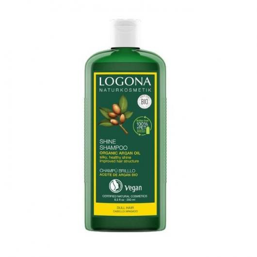 Champú Brillo argán Logona, 250 ml