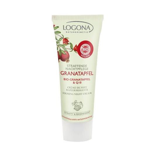 Crema notte Granada & Q10 Logona, 30 ml