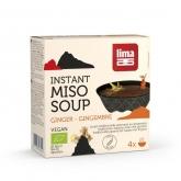 Zuppa Miso Instantanea di Zenzero Lima 60 g