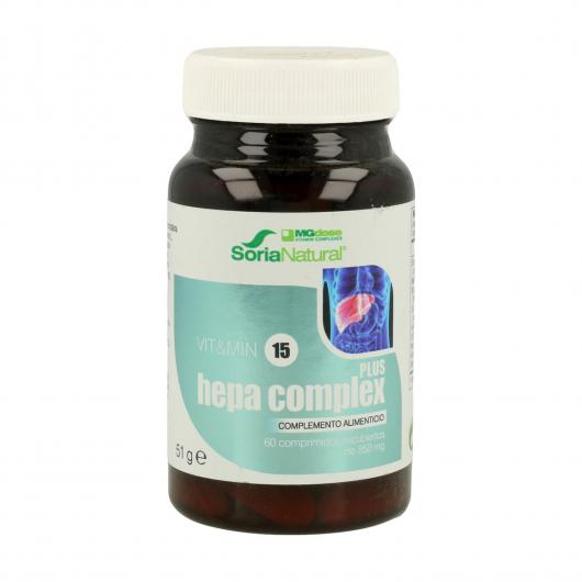 Hepa Complex Mgdose, 60 comprimidos