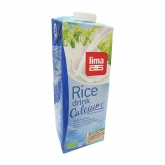Bebida de arroz Rice Drink Calcium Lima, 1 L