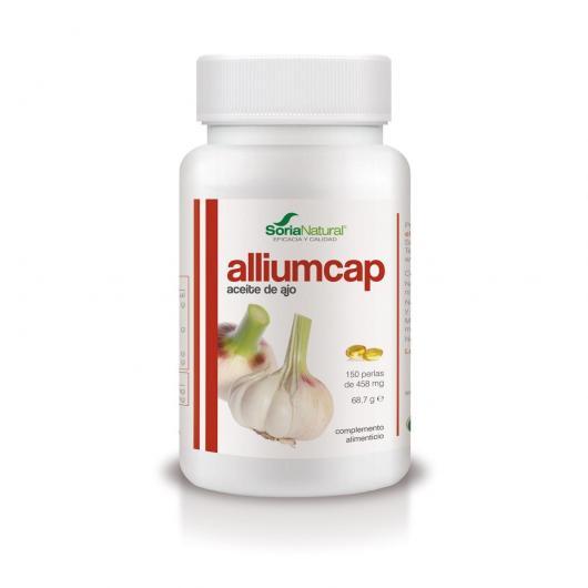 Alliumcap Aceite de Ajo Soria Natural, 150 perlas
