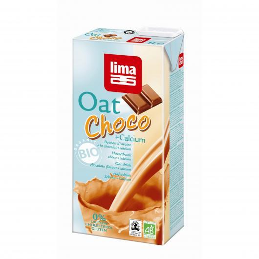 Boisson avoine chocolat calcium Lima, 1 L