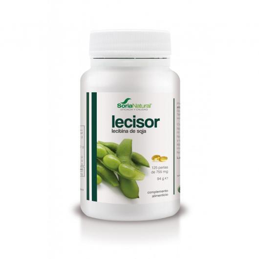 Lecisor Olio di Leticina di Soia Soria Natural, 125 perle