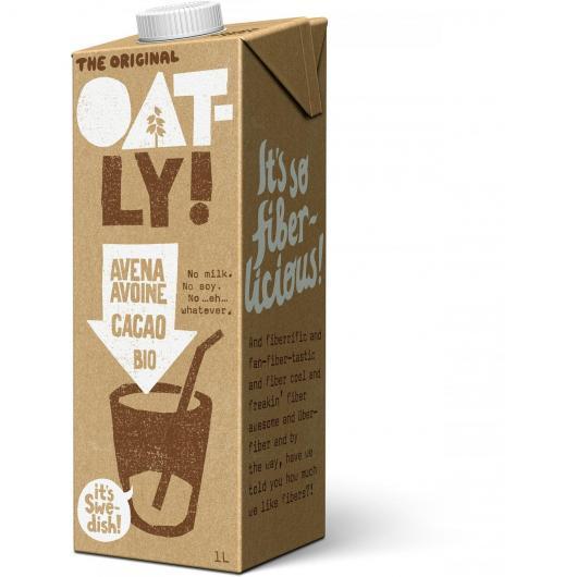Bevanda avena cioccolato Oatly Bio, 1L