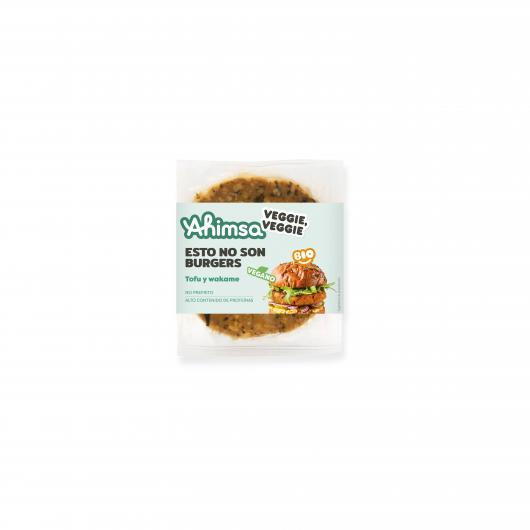 Hamburguesa de Tofu y Algas Bio Ahimsa, 150 g