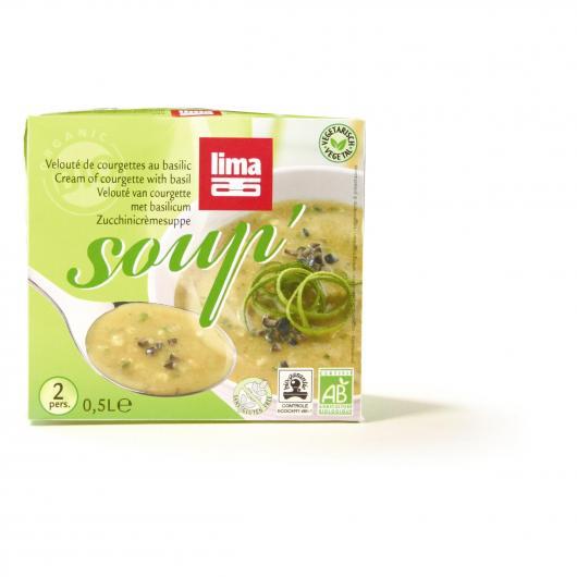 Crema di zucchine e basilico Lima, 500 ml