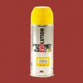 Tinta em spray evolution vermelho fogo, 400 ml