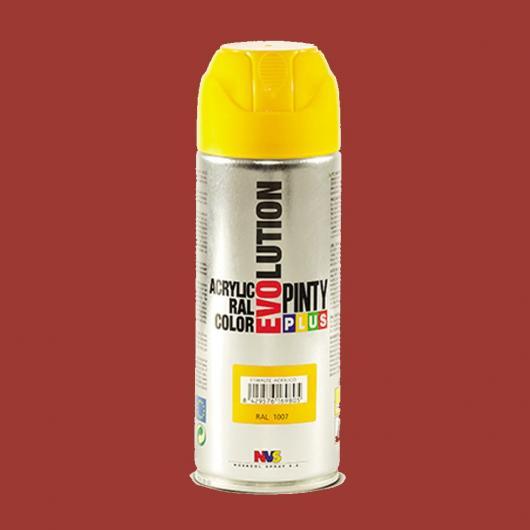 Pittura Spray Evolution Rosso Fuoco, 400 ml