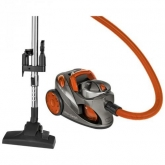 Aspiradora sin Bolsa BS1294  Filtro HEPA 700 W Clatronic, naranja