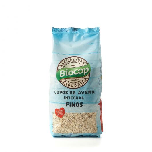 COPOS AVENA INTEGRAL FINOS BIOCOP, 500 G