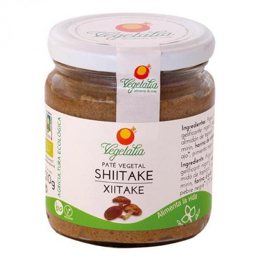 Paté di Shiitake bio Vegetalia, 210 g