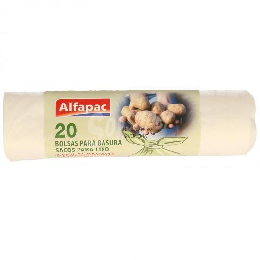 Busta della spazzatura biodegradabile Alfapac, 10 L x 20 unitá
