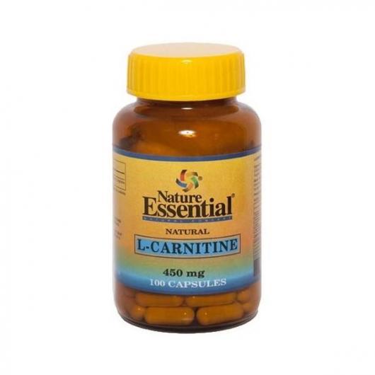L-Carnitina 450 mg Nature Essential, 100 capsule