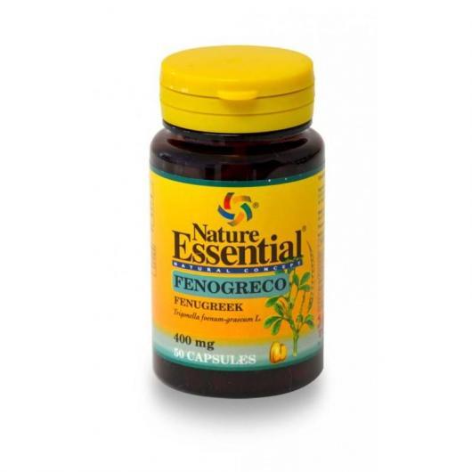 Fenogreco 400 mg Nature Essential, 50 cápsulas