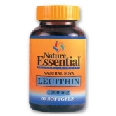 Lecitina De Soja 1200 mg  Nature Essential, 50 Perlas