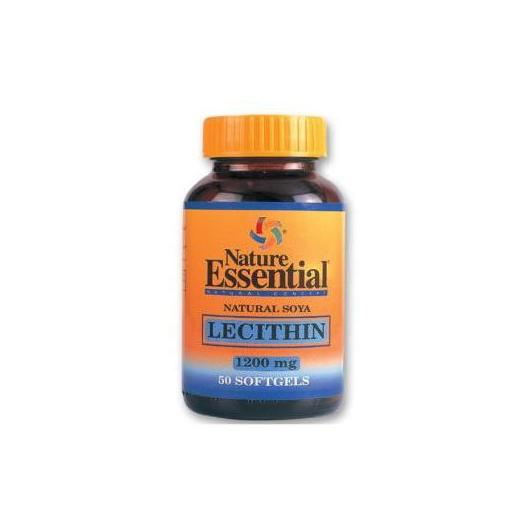 Lecitina De Soja 1200 mg  Nature Essential, 50 Perlas