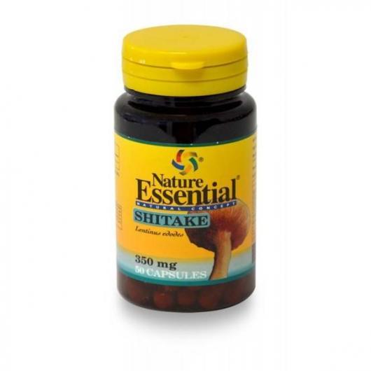 Shitake ( Micelio ) 350 mg Nature Essential, 50 Cápsulas