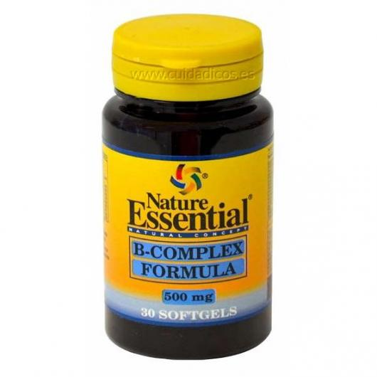 B-Complex 500 mg Nature Essential, 30 Perlas