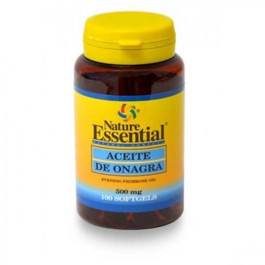Aceite de onagra 500 mg Nature Essential, 100 Perlas